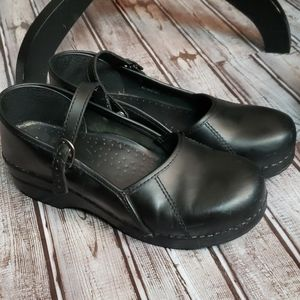Dansko black Mary Jane clogs 41